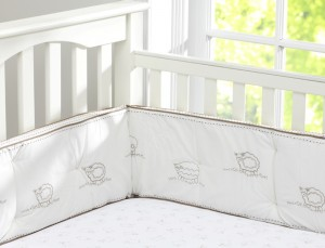 Sweet Lambie Recalled Crib Bumper