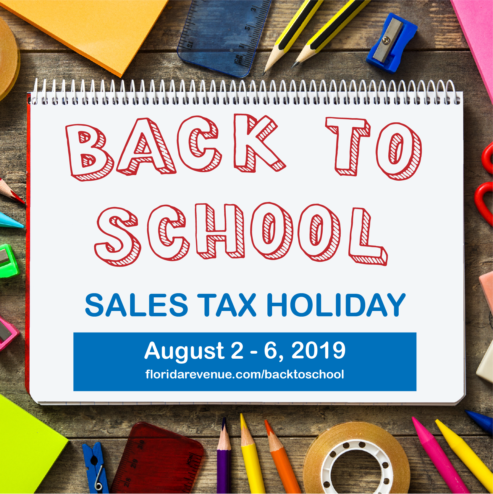 Florida Back to School Sales Tax Holiday