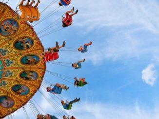 Stock Image of a Fair Ride