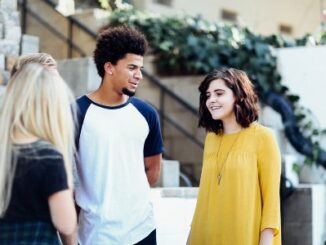 Teens Outside